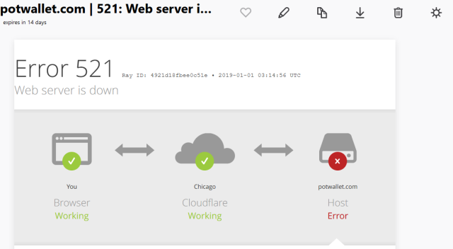 screenshot_2019-01-01 potwallet com 521 web server is down