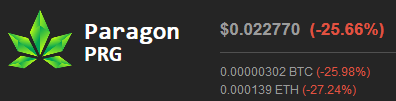 Screenshot_2019-10-24 Paragon (PRG) Price, Charts, Market Cap, Markets, Exchanges, PRG to USD Calculator $0 022770(1)
